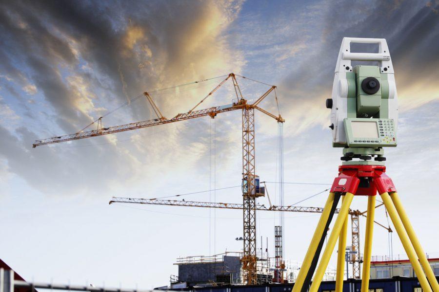 Использование тахеометров Leica в строительстве