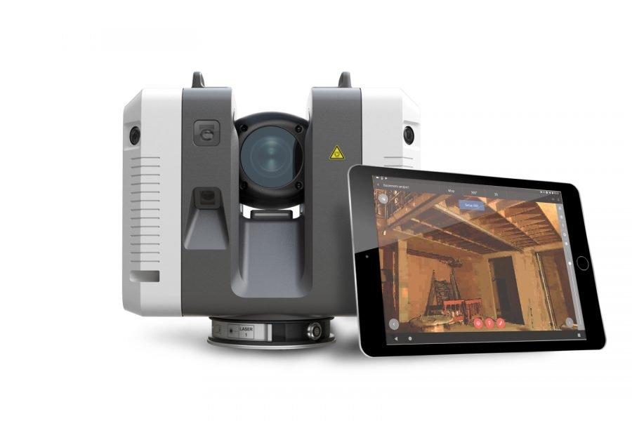 Запись на вебинар лазерный сканер Leica RTC360
