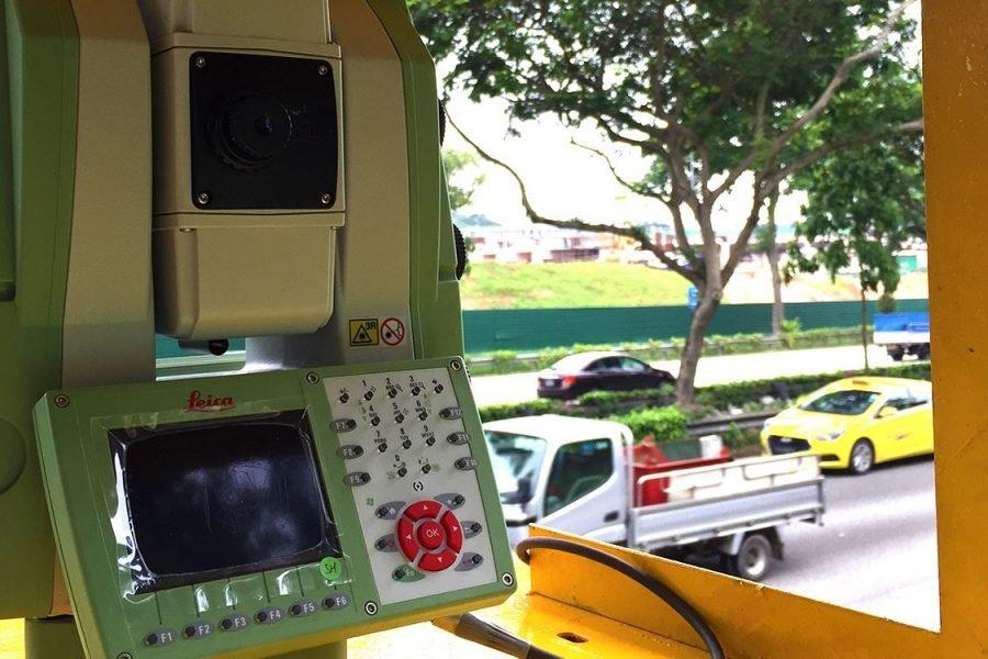Мониторинг дорожного полотна при непрерывном транспортном потоке.